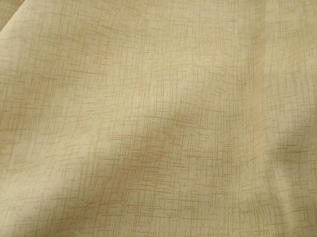 A1577■訳あり ドレープカーテン 防炎 サテン生地 1級遮光 日本製 1枚 200x250cm ベージュ_画像2