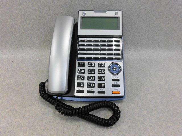 ▲ ・保証有 C★13997★TD720(K) サクサ PLATIA 30ボタン標準電話機 中古ビジネスホン 領収書発行可能 同梱可 仰天価格 14年製 動作確認済_画像1