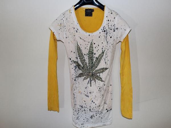 アイコニック ICONIC レディースダブルスリーブ長袖 Tシャツ Sサイズ 新品_画像1