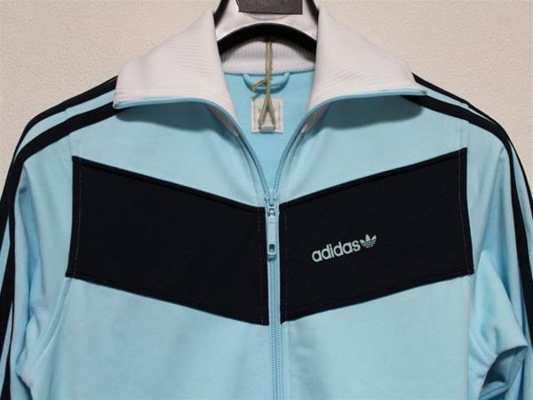 アディダス adidas レディーストラックジャケット ブルー Mサイズ ジャージ 新品_画像2