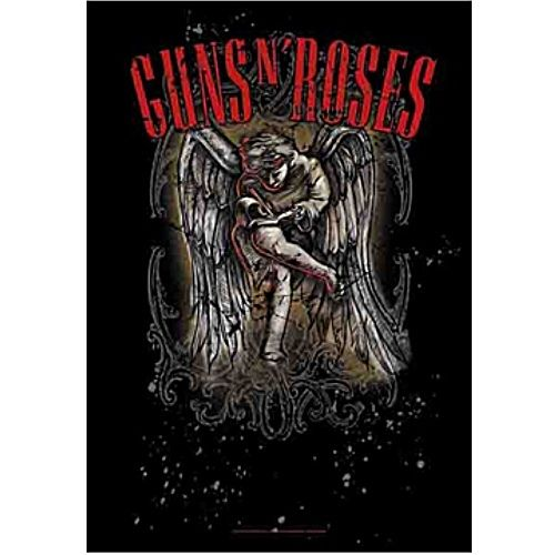 海外限定 公式 Guns N' Roses ガンズ G227 特大布ポスター