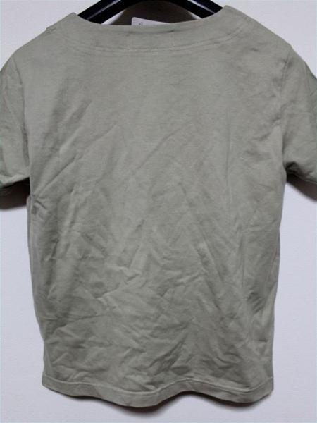 ミチコロンドン MICHIKO LONDON レディース半袖Tシャツ カーキ Mサイズ 新品_画像3