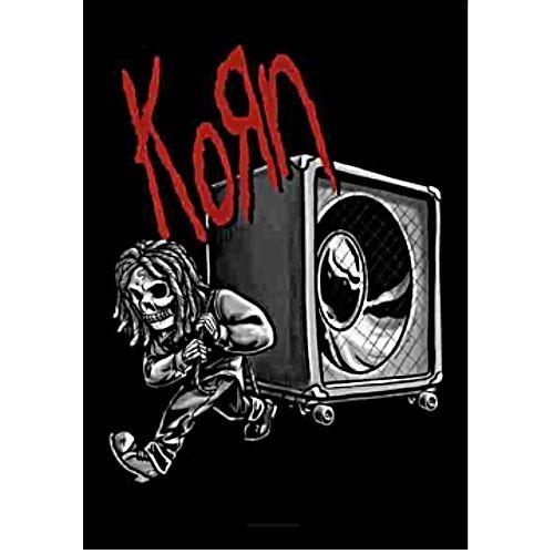 海外限定 公式 Korn コーン 特大布ポスター G140