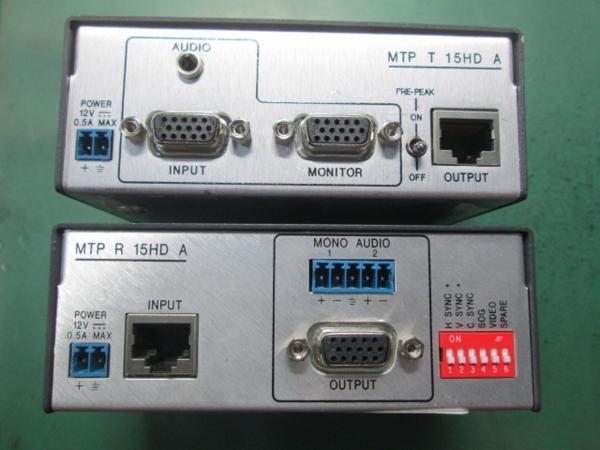 ●Extron MTP T 15HD A+R 15HD A トランスミッター[0123CI(7)7AT!_画像3