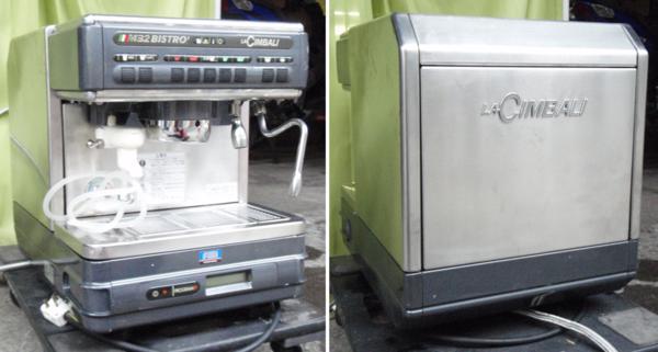 ◆La Cimbali/ラ・チンバリー製エスプレッソマシンM32BI-DT/1◆_画像1