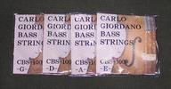 ◆コントラバス弦セット カルロジョルダーノ 新品/税込/送料無料