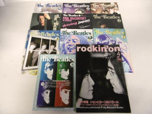 6e11108【会報10冊+雑誌rockin'on】The Beatles/2002~2003年