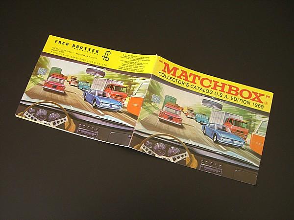 ◎〓◎MATCHBOX 1969年 U.S.A.版 カタログ (美品)_MATCHBOX1969USAカタログ-1