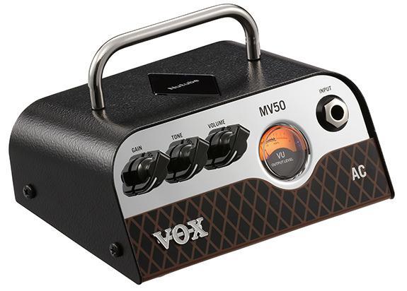 新品 ◆VOX MV50 AC ◆ 新真空管Nutube搭載ヘッドアンプ!! わずか540gで超コンパクトサイズ!!_画像1