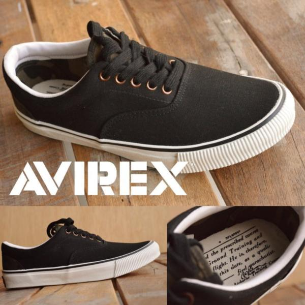正規 AVIREX U.S.A. ASTRO スニーカー デッキシューズ スリッポン メンズ 靴 新品 AV3623 ブラック/カモ 26.5cm