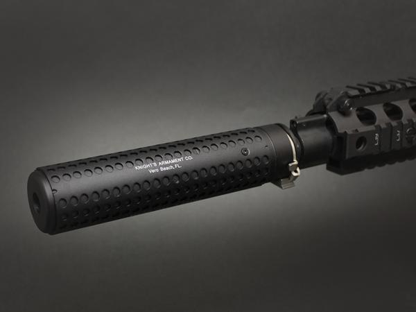 【14mm逆ネジ対応】M4 QD 5.56サプレッサーBK/M4A1/M16/M933/CRW_画像5