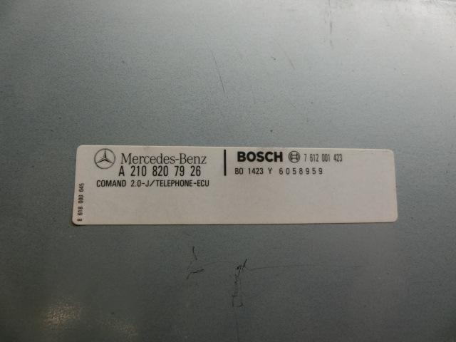 CLK200 平成13年 GF-208344 テレフォンコンピューター ベンツ W208 CLK240 CLK320 186400ー0371 k_画像3