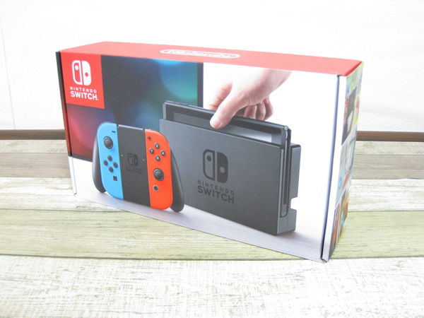 【美品1円】 任天堂 Nintendo Switch HAC-S-KABAA Joy-Con(L) ネオンブルー / (R) ネオンレッド ニンテンドースイッチ