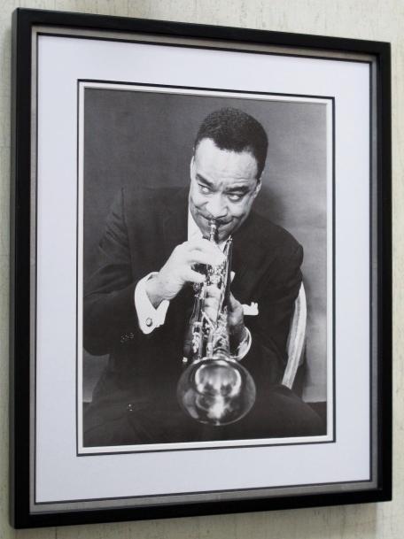 バック・クレイトン/アートピクチャー額装/1959/ Buck Clayton/額入りジャズ/Framed Buck Clayton