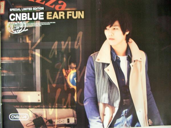CNBLUE - Ear Fun カン・ミンヒョク ポスター