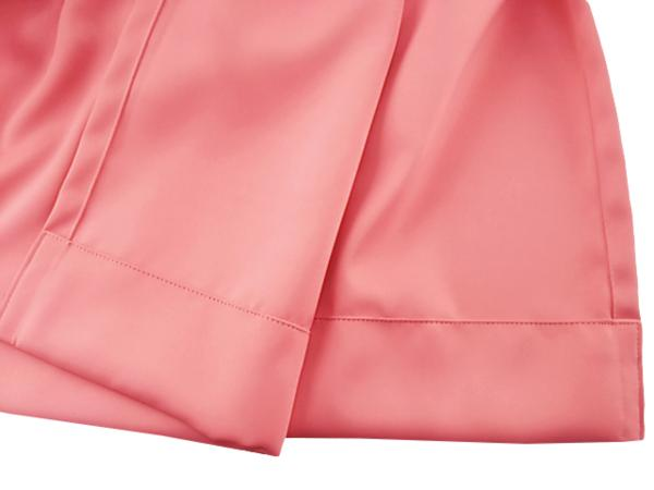 A1018■訳あり ドレープカーテン 防炎 1級遮光 日本製 1枚 幅200x220cm ピンク_画像3