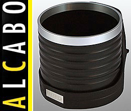【M's】W211 ベンツ AMG Eクラス(2002y-2010y)ALCABO 高級 ドリンクホルダー(BK+リング)/アルカボ カップホルダー AL-M303BS ALM303BS_画像1