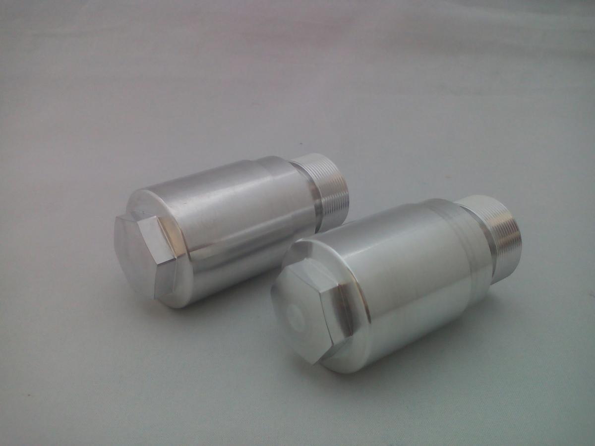 弁天部品 HONDA REBLE250 MC13 フロントフォーク 変換ジョイント 33パイから40パイ(長さ35ミリ)へ_画像1