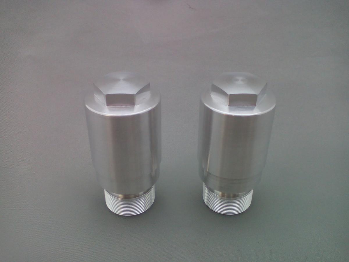 弁天部品 HONDA REBLE250 MC13 フロントフォーク 変換ジョイント 33パイから40パイ(長さ35ミリ)へ_画像5