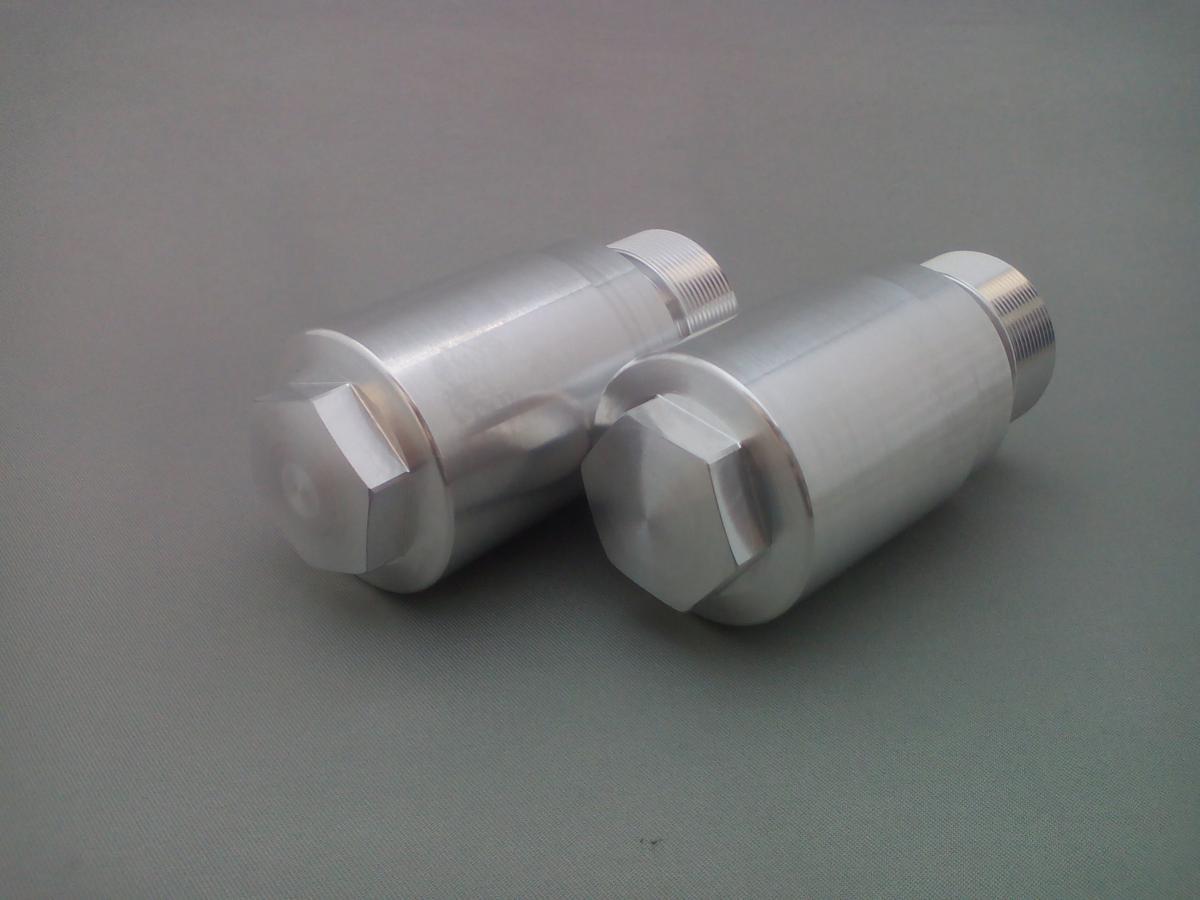 弁天部品 HONDA REBLE250 MC13 フロントフォーク 変換ジョイント 33パイから40パイ(長さ35ミリ)へ_画像3