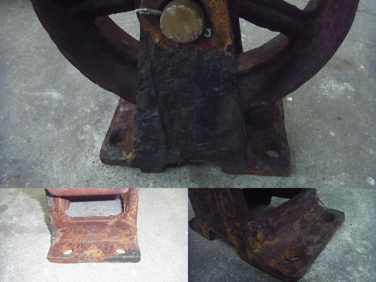 「16-472 船台等 車輪 保管、マリーナさん、造船さん等 中古品」の画像2