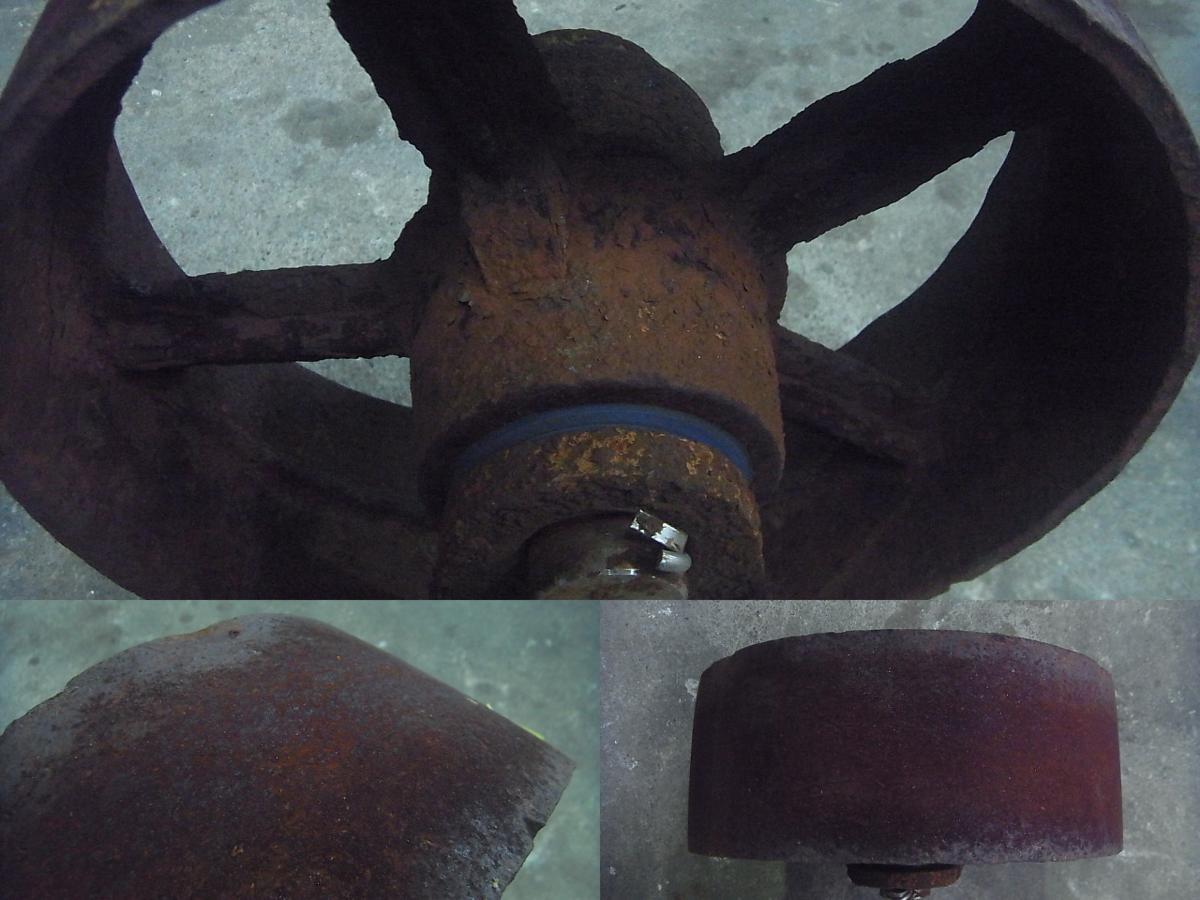 「16-472 船台等 車輪 保管、マリーナさん、造船さん等 中古品」の画像3