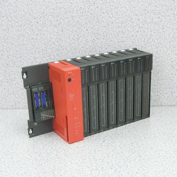 ■β 三菱/MELSEC シーケンサ電源ユニット A61P+AX11,AY13⑳中古品_画像1