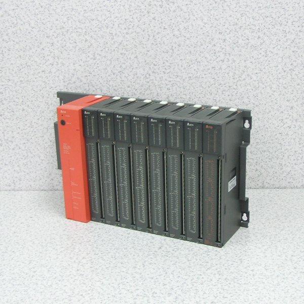 ■β 三菱/MELSEC シーケンサ電源ユニット A61P+AX11,AY13⑳中古品_画像3