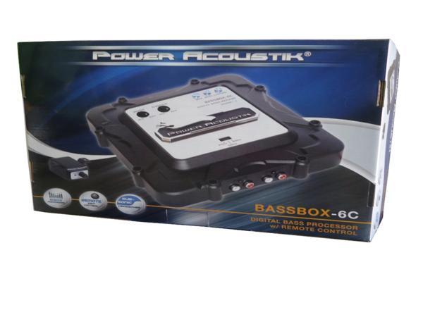 ■USA Audio/Power AcoustikデジタルバスプロセッサーBASSBOX-6C_画像6