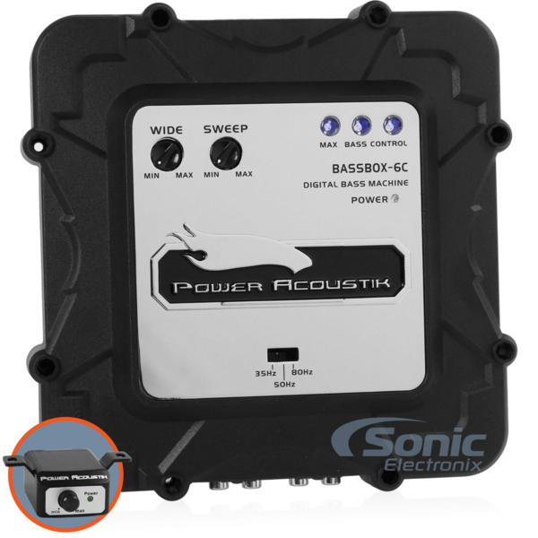■USA Audio/Power AcoustikデジタルバスプロセッサーBASSBOX-6C_画像2