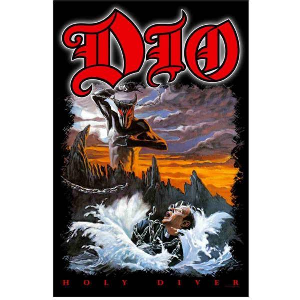 海外限定 公式 DIO ディオ ロック メタル 特大布ポスター G125