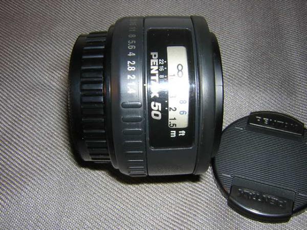 **中古品 PENTAX-FA 50mm/F1.4 レンズ*_画像1