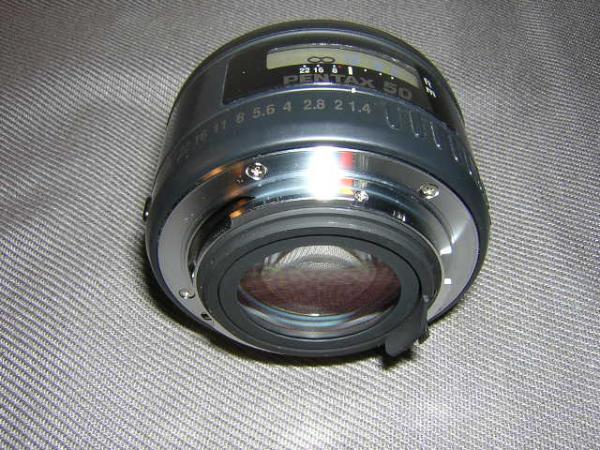 **中古品 PENTAX-FA 50mm/F1.4 レンズ*_画像3