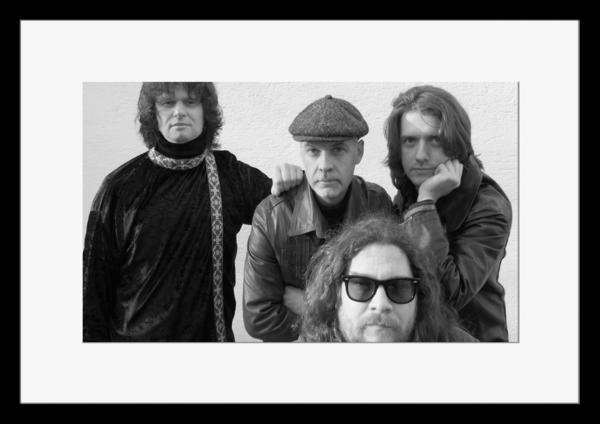 BW:人気ロックバンド!ドアーズ/The Doors/モノクロ写真フレーム-4