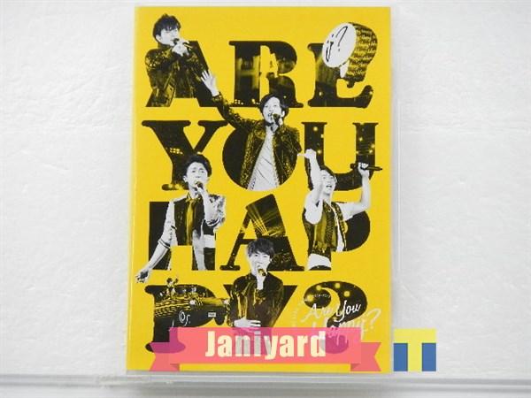 嵐 DVD ARASHI LIVE TOUR 2016-2017 Are You Happy? 通常盤 1円