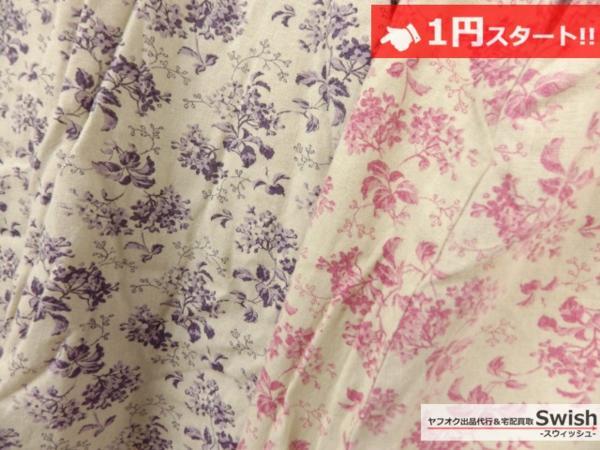 A373●Cloth&Cross/Hug O War ハグオーワー●花柄 ワンピース 2点セット●_画像4