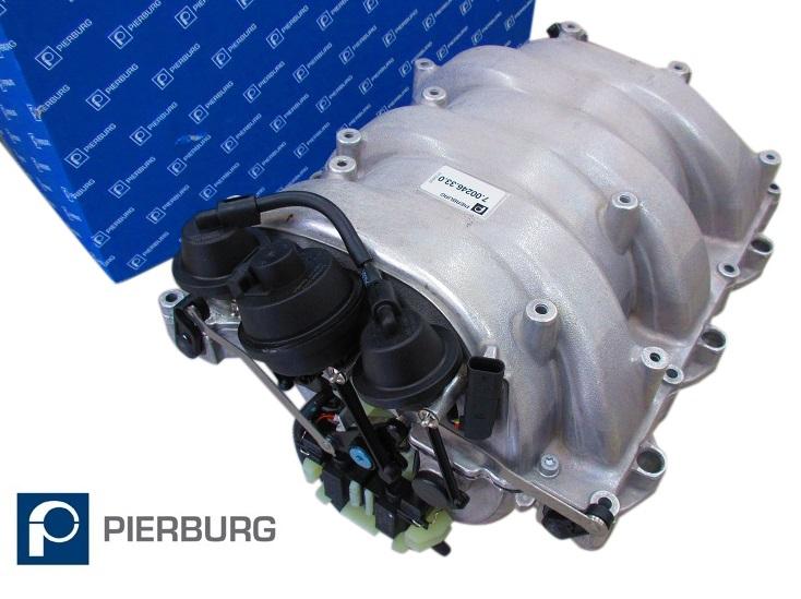 ピアブルグ製 インテークマニホールドAssy/W209 CLKクラス CLK350/R171 SLKクラス SLK280 SLK350 M272(V6) エンジン用 (272-140-2401)_画像1
