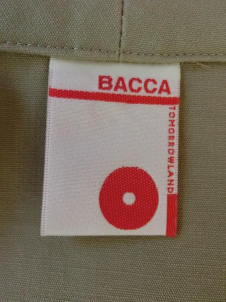 kby78 【美品】 BACCA トゥモロ―ランド ジャケット 綿100%_画像9