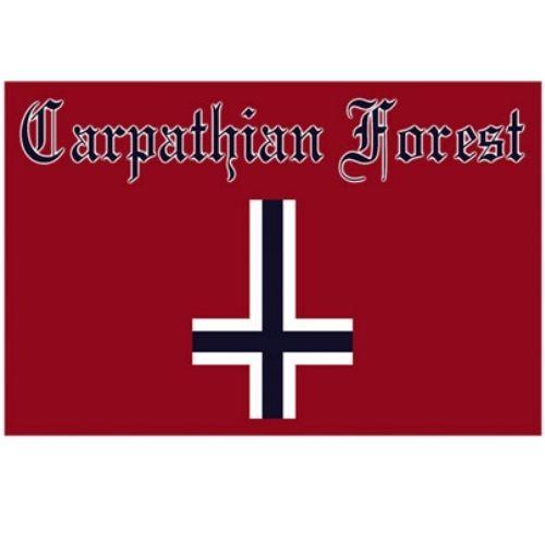 海外限定 公式 CARPATHIAN FOREST G283 特大布ポスター