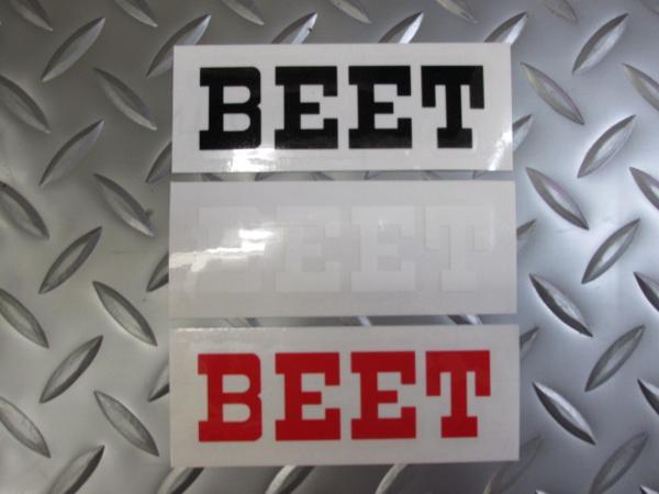 BEETステッカー黒★XJ400DRZ250GX250GX400XS400XS250_画像5
