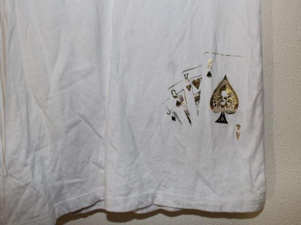 スメット SMET レディース半袖チュニックTシャツ ホワイト Sサイズ 新品 白_画像4
