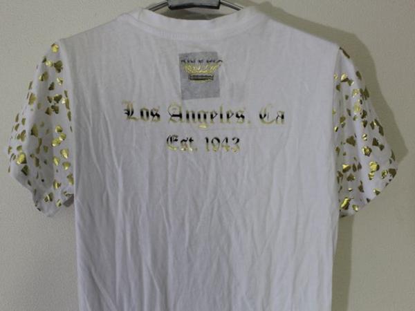 スメット SMET レディース半袖チュニックTシャツ ホワイト Sサイズ 新品 白_画像6
