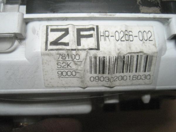 【26782】 JB1 ライフ スピードメーター  ⑧ 69319km_画像3
