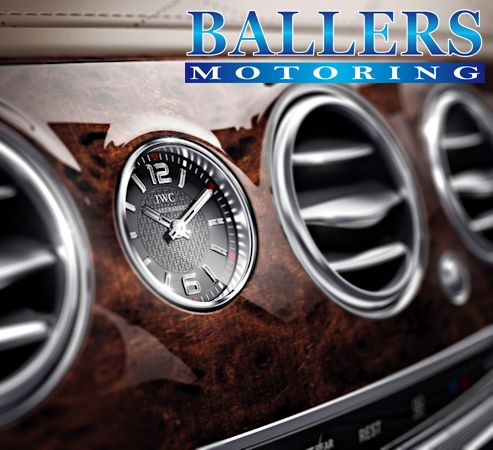 ベンツ W222 Sクラス IWC インテリアクロック 時計 S300h S400h S550 S600 S63 S65_画像3