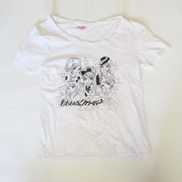 ももいろクローバーZ ももクロ秋の2大祭り ももクロ女祭り2011 プリンセスTシャツ ホワイト グッズ