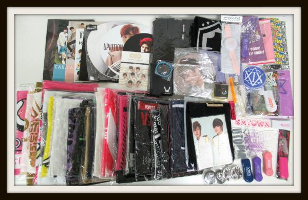 K-POP グッズセット/タオル/パーカー/うちわ/ペンライト/GOT7/B.A.P/TEENTOP/100%/UKISS/INFINITE【20
