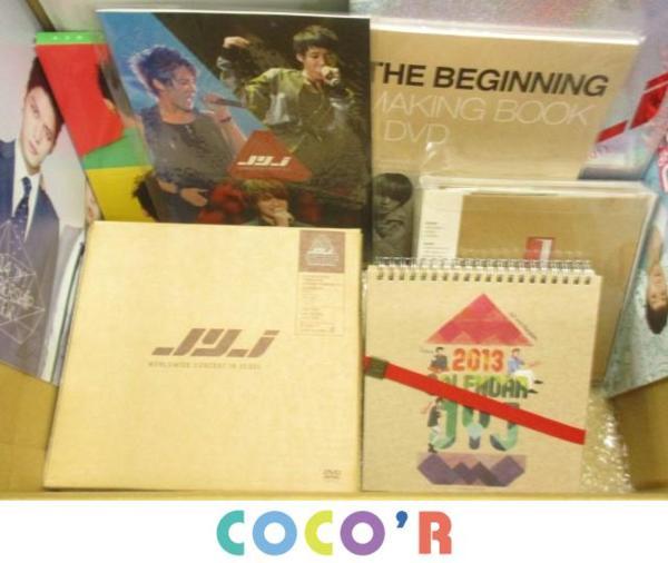 韓流 JYJ DVD WORLD WIDE IN SEOUL CD カレンダー メイキングブック等 グッズセット まとめ売り