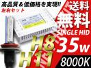 H8/H11/8000K/35w/HID/カローラフィールダ