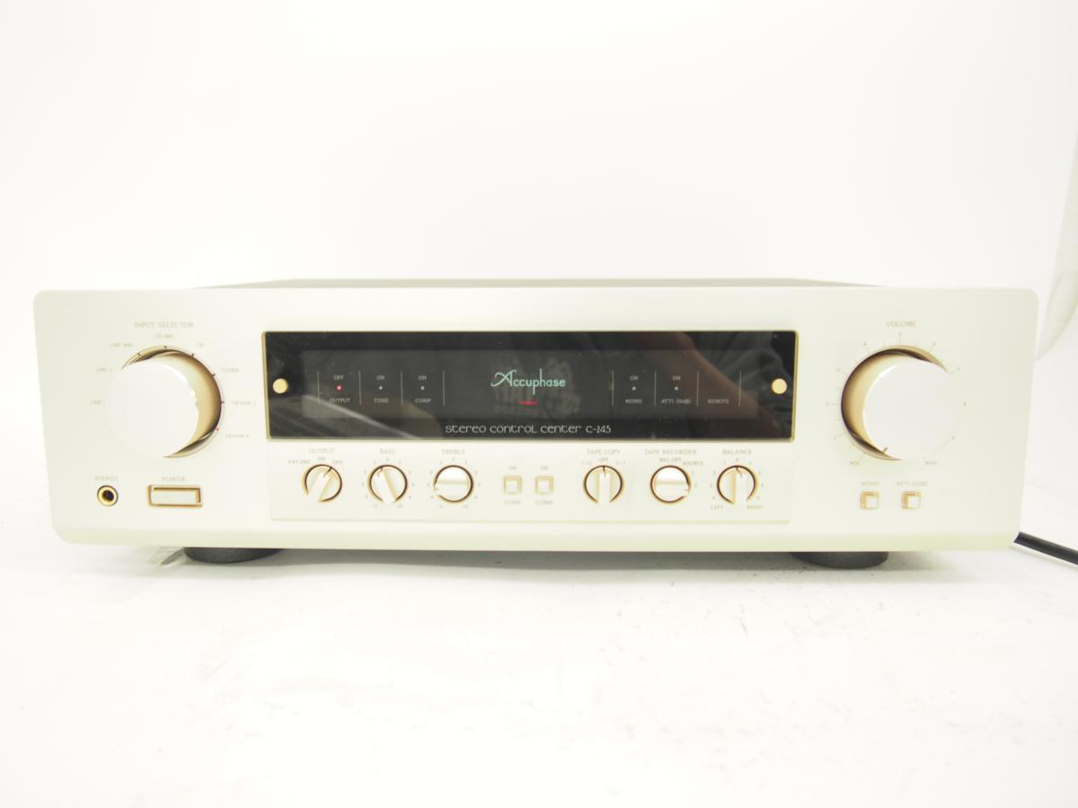 accuphase アキュフェーズ C-245 ステレオコントロールアンプ ■ 4FA58-1