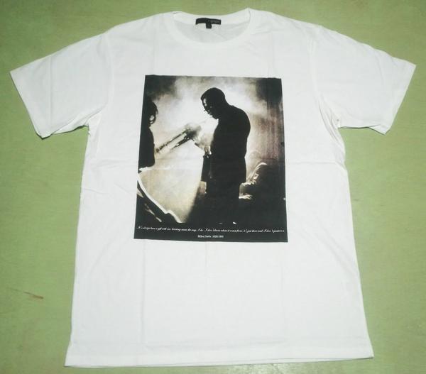 ■ジャズTシャツ■『マイルスデービス』/M_画像2